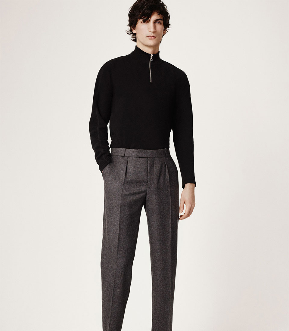 look 6 - MINK Leather