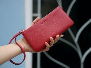 KY25 đỏ dê 1 - MINK Leather