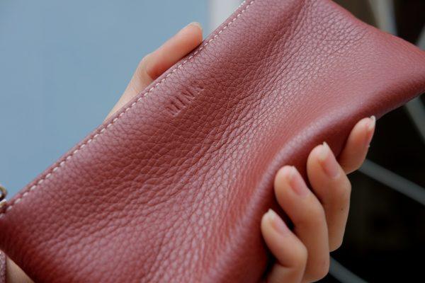 KY25 đỏ gạch 2 - MINK Leather