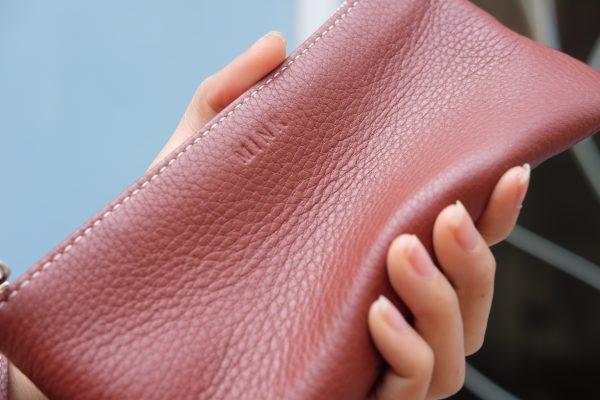 KY25 đỏ gạch 5 - MINK Leather