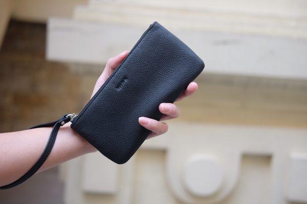 KY25 đen 1 1 - MINK Leather