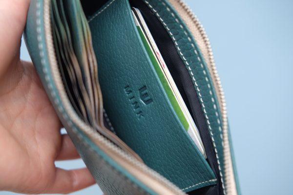 KY25 Xanh lá đậm 3 - MINK Leather