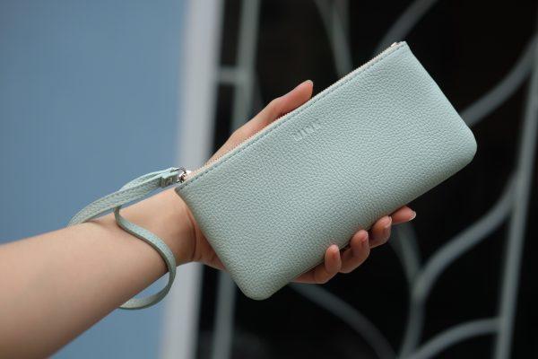 KY25 xanh bạc hà 1 - MINK Leather