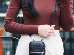 ANNE Túi da đeo chéo